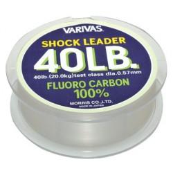 VARIVAS FLUOROCARBONE SHOCK LEADER 30M 100LBS