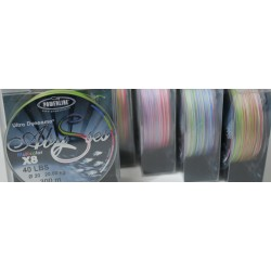 TRESSE POWERLINE MULTICOLORE ABYSSES 300M