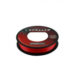 TRESSE SPIDERWIRE ROUGE