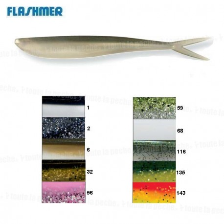 "LEURRE LUNKER CITY FIN'S FISH 2,5"""