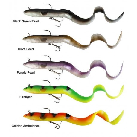 LEURRE SAVAGE GEAR REAL EEL 20CM