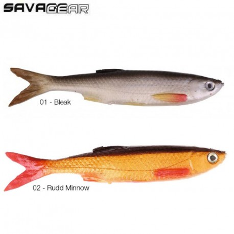 LEURRE SAVAGE GEAR BLEAK REAL TAIL 4''