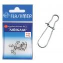 AGRAFE FLASHMER AMERICAINE INOX