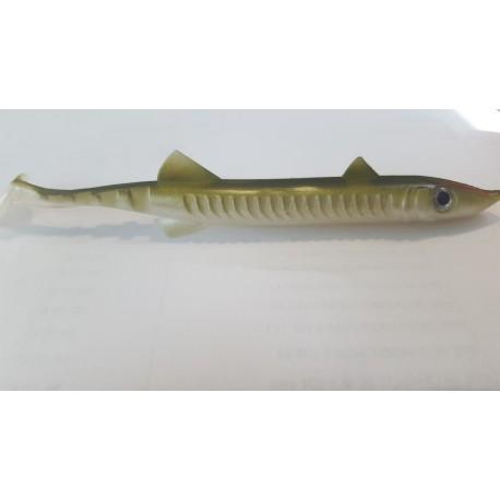 Leurre souple Delalande Sea Pike 14cm (vendu à l'unité)
