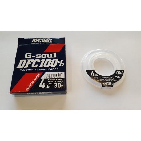 YGK G-Soul DFC 100% Fluorocarbon Leader