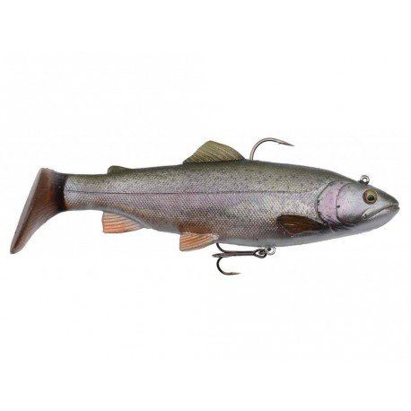 LEURRE SAVAGE GEAR 3D TROUT RATTLE SHAD 12,5CM