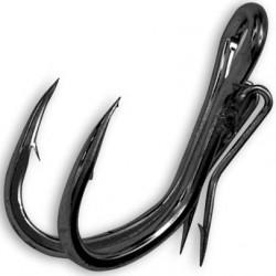 Hameçon double Black Cat ghost Double Hook