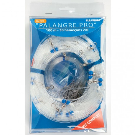 PALANGRE PRO 100M 30 HAMECONS 2/0