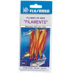 PLUMES FILAMENTS 3 HAMECONS 1/0
