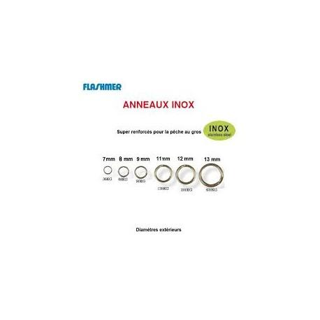 ANNEAUX BRISES INOX FORGES 6MM
